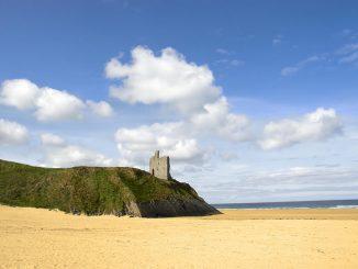 Ballybunion Castle and Beach