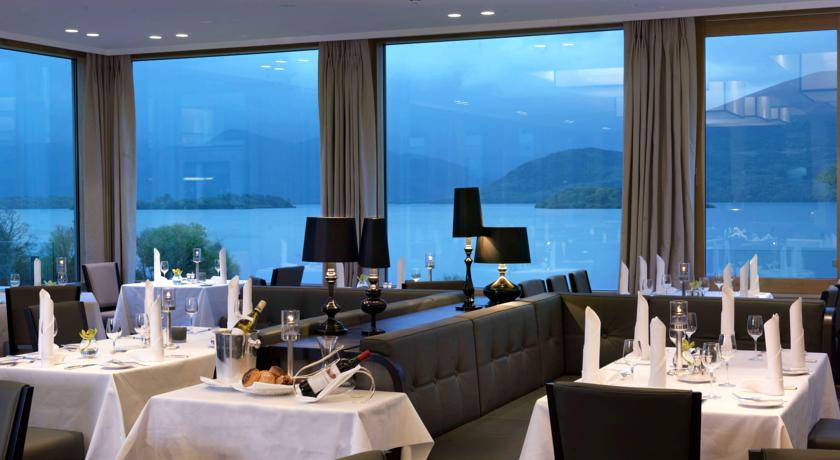 The europe hotel killarney 5 star overlooking the lakes for Top design hotels europa