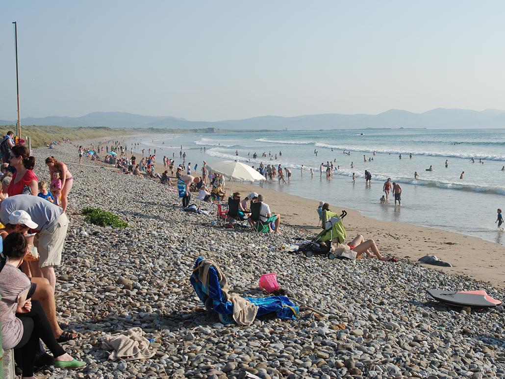 Banna Beach Summer Crowd
