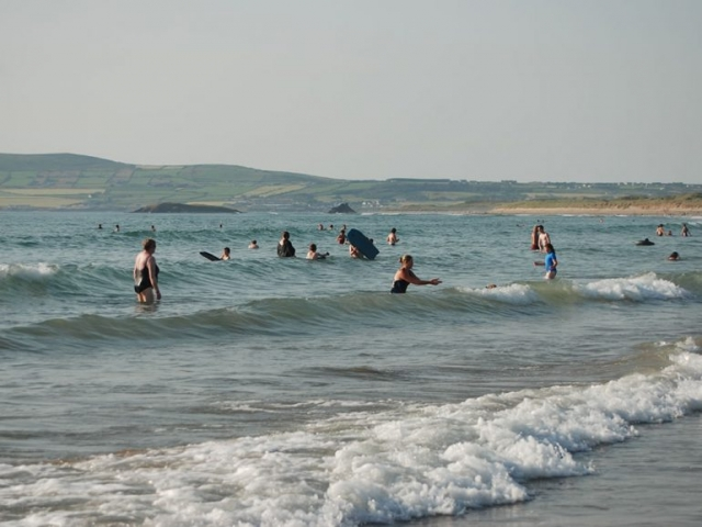 Swimming at Banna