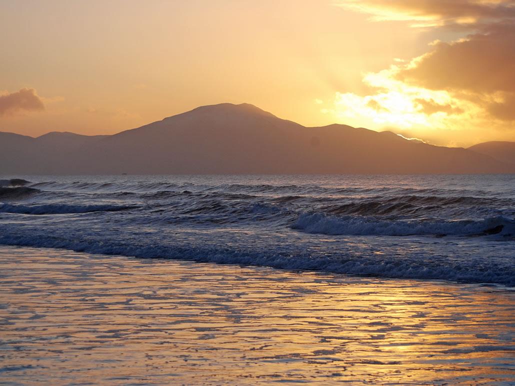Sunset at Banna County Kerry