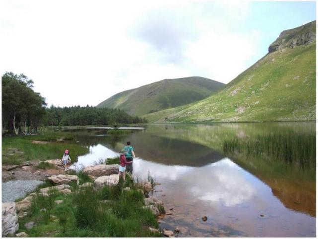 Lake near Castlegregory