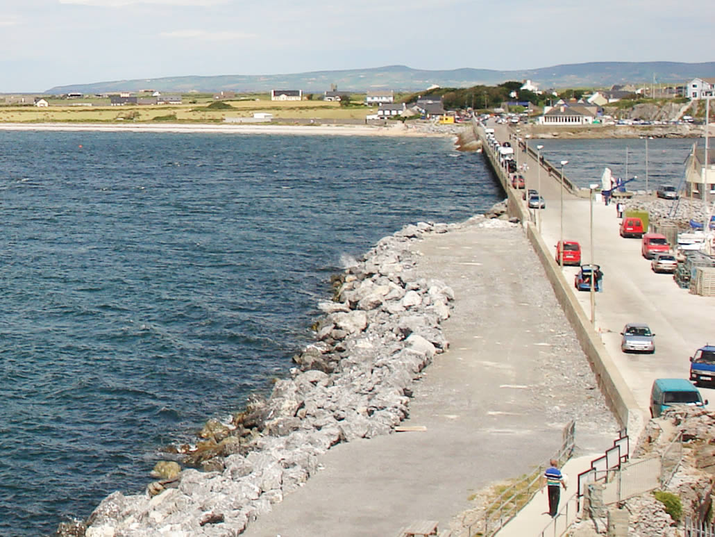 Pier at Fenit County Kerry