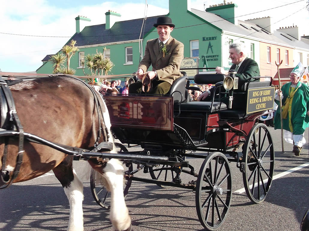 St Patrick's Day Parade in Waterville