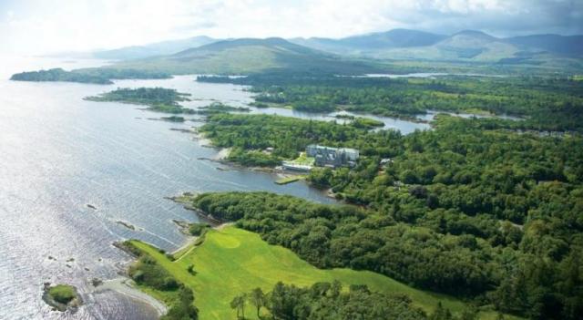 Parknasilla Hotel Aerial View