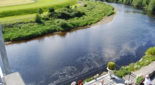 Listowel Arms Hotel view of river Feale