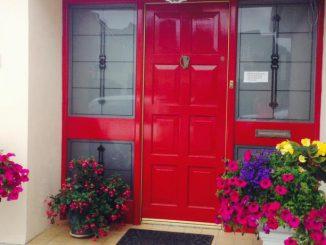 the harp bed and breakfast killarney front door
