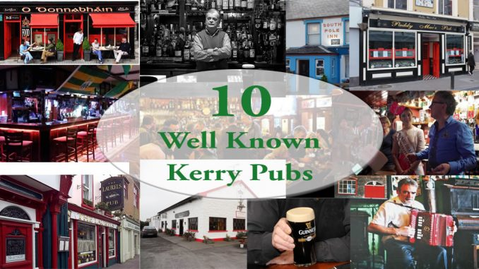10 well known kerry pubs