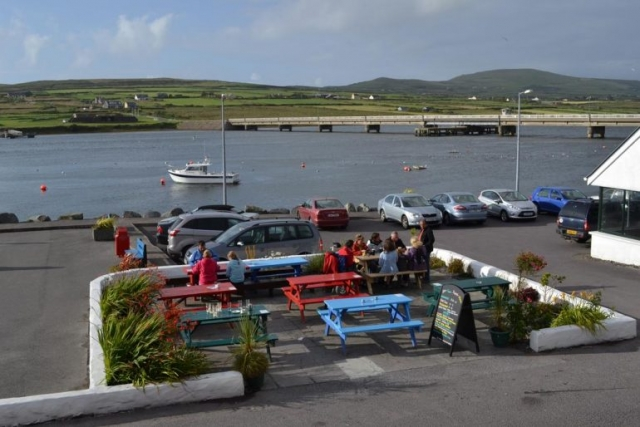 The Moorings Portmagee Harbour view